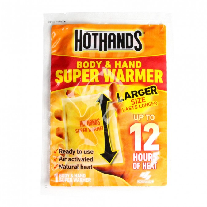 HOT HANDS Super Warmers - Body