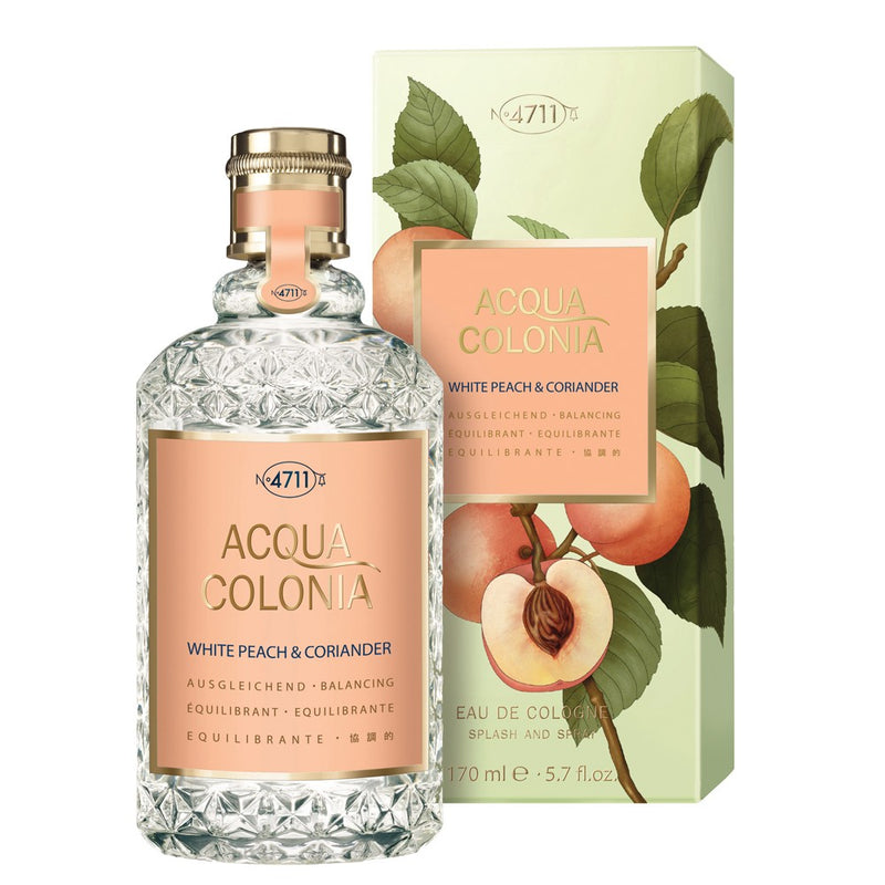 4711 Acqua Colonia White Peach & Coriander EDC 170 mL - Best Buy Pharmacy