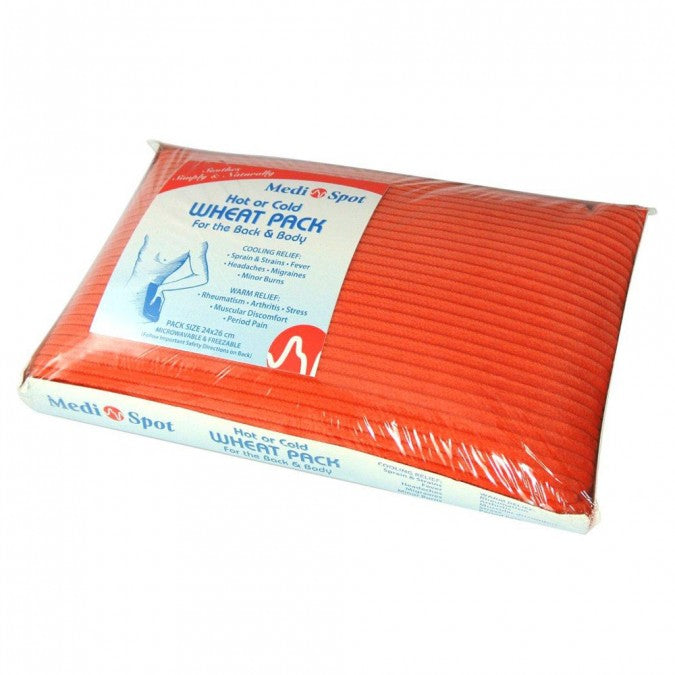 MEDISPOT Hot/Cold Wheat Pack - Back 1EA