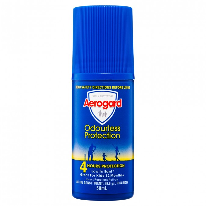 AEROGARD Odourless Insect Repellant Roll-On 50mL