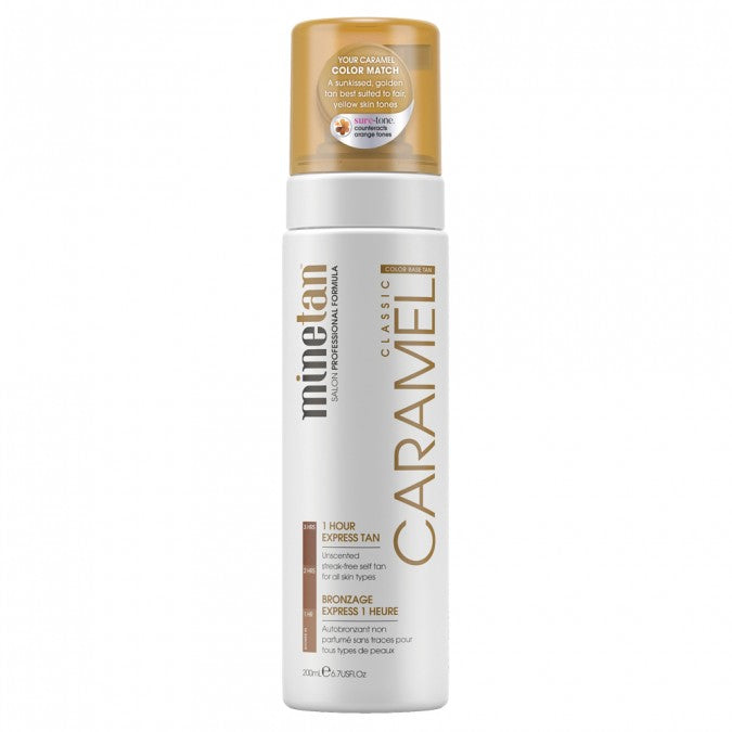 MINETAN Caramel Self Tan Foam 200mL