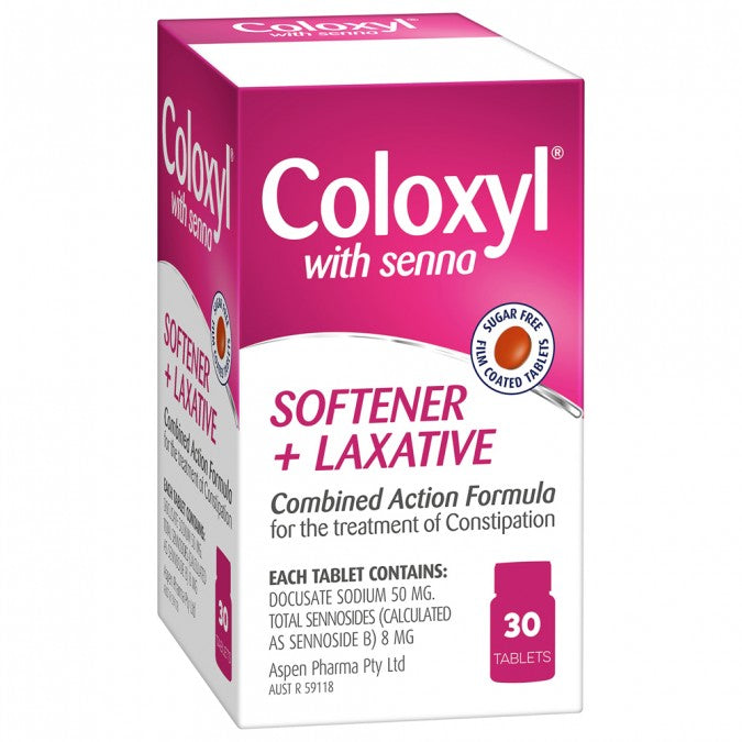 COLOXYL Coloxyl with Senna 30 Tablets