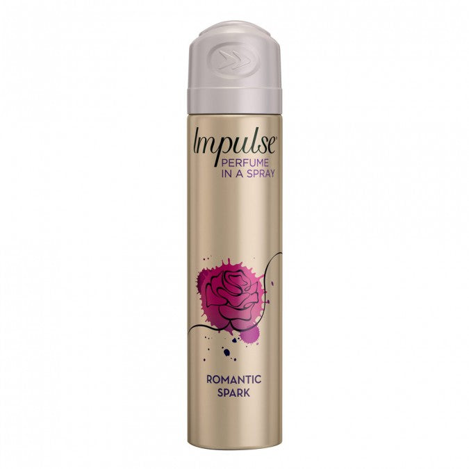 IMPULSE Body Spray Romantic Spark 75mL