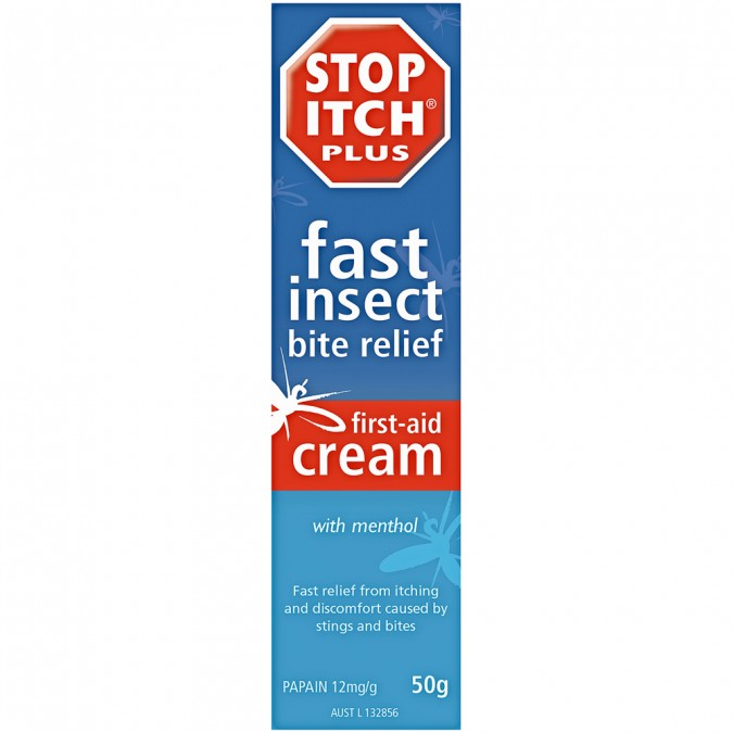 STOP ITCH PLUS First-Aid Cream 50g
