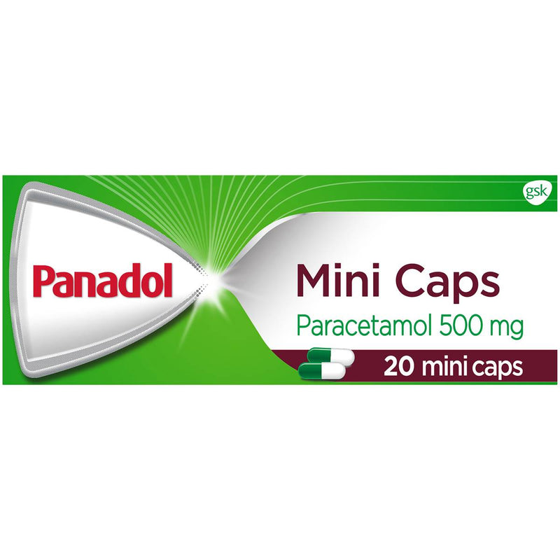 PANADOL Mini Caps 500mg 20 Caps