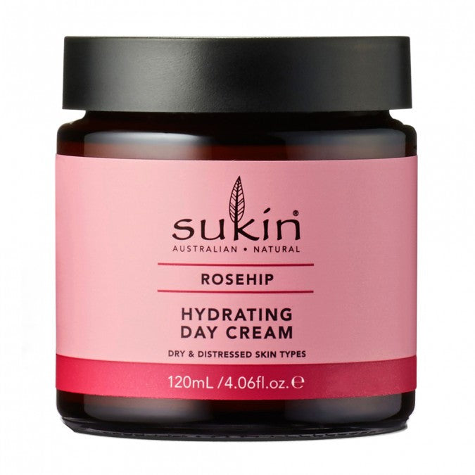 SUKIN Rosehip Hydrating Day Cream 120mL