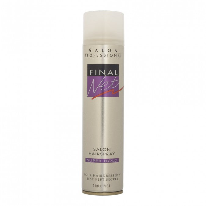 FINAL NET Salon Hairspray Super Hold 200g