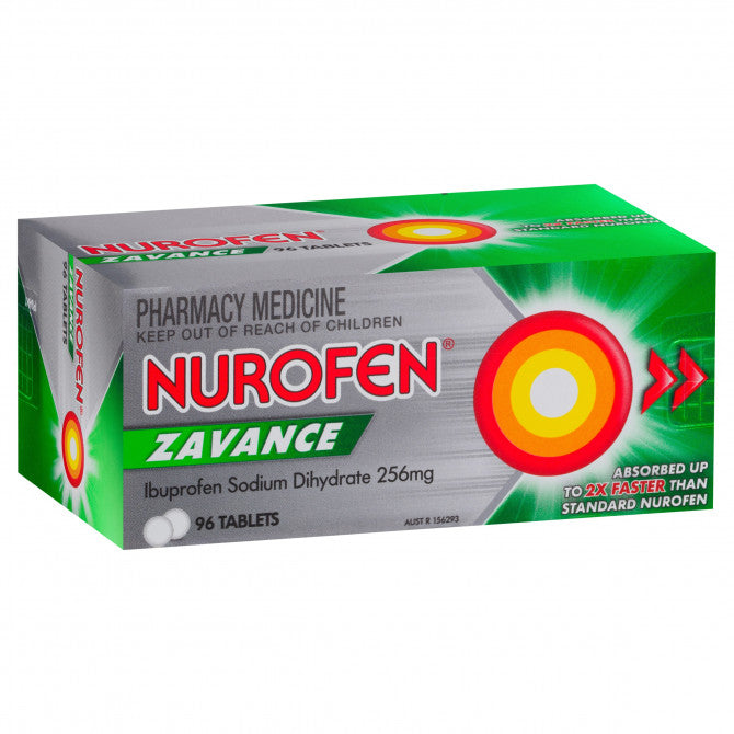 Nurofen Zavance 96 Tablets - Best Buy Pharmacy