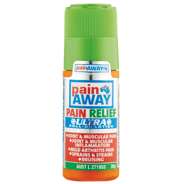 PAIN AWAY Pain Relief Ultra Roll-On Lotion 35g