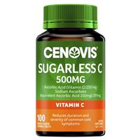 CENOVIS Sugarless C 500mg Orange Flavour 100 Chewable Tablets