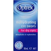 OPTREX Rehydrating Eye Drops for Dry Eyes 10mL