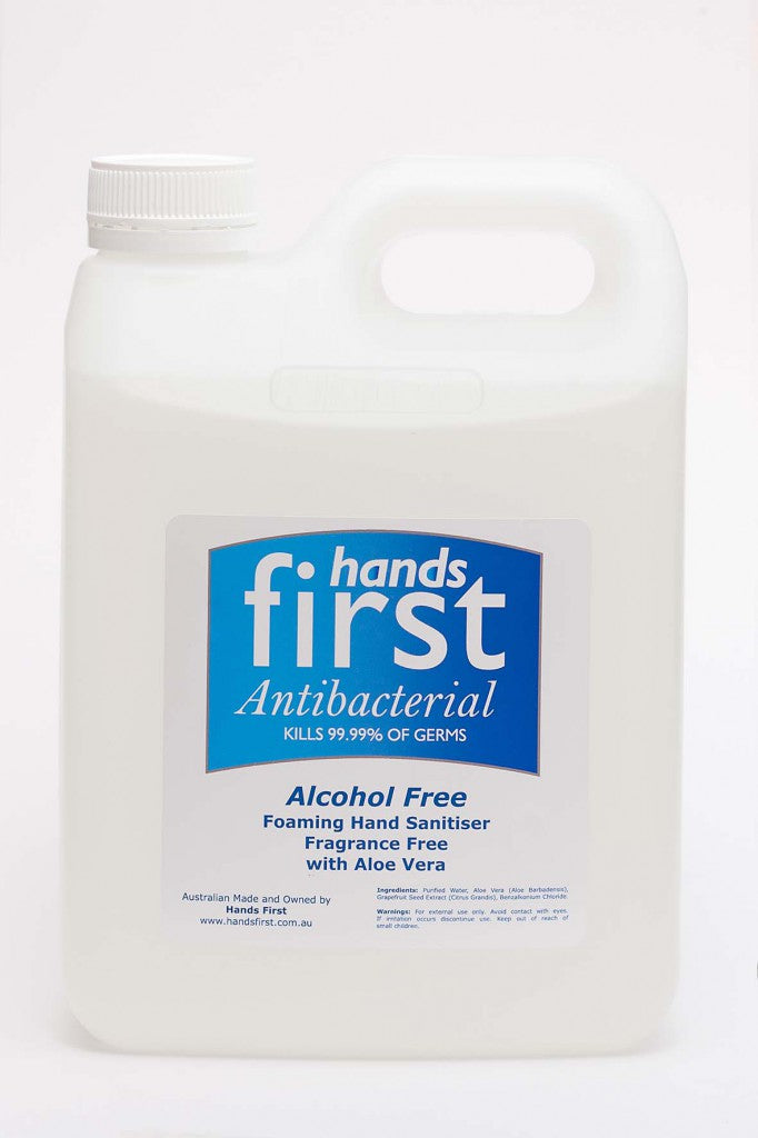 Hands First Alcohol Free Sanitiser – 2L Refill - Best Buy Pharmacy