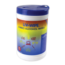 Liv-Wipe Alcohol Wipes, 70 Percent Isopropyl Alcohol Sanitiser, Jumbo, 42 x 14.5cm, 75 per Tub - Best Buy Pharmacy