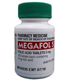 Megafol 5mg 100 Tablets - Best Buy Pharmacy
