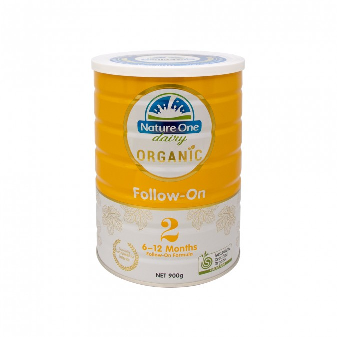 NATURE ONE DAIRY Organic Follow-On Formula Step 2 900 g - Best Buy Pharmacy