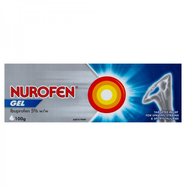 NUROFEN Gel 100g - Best Buy Pharmacy