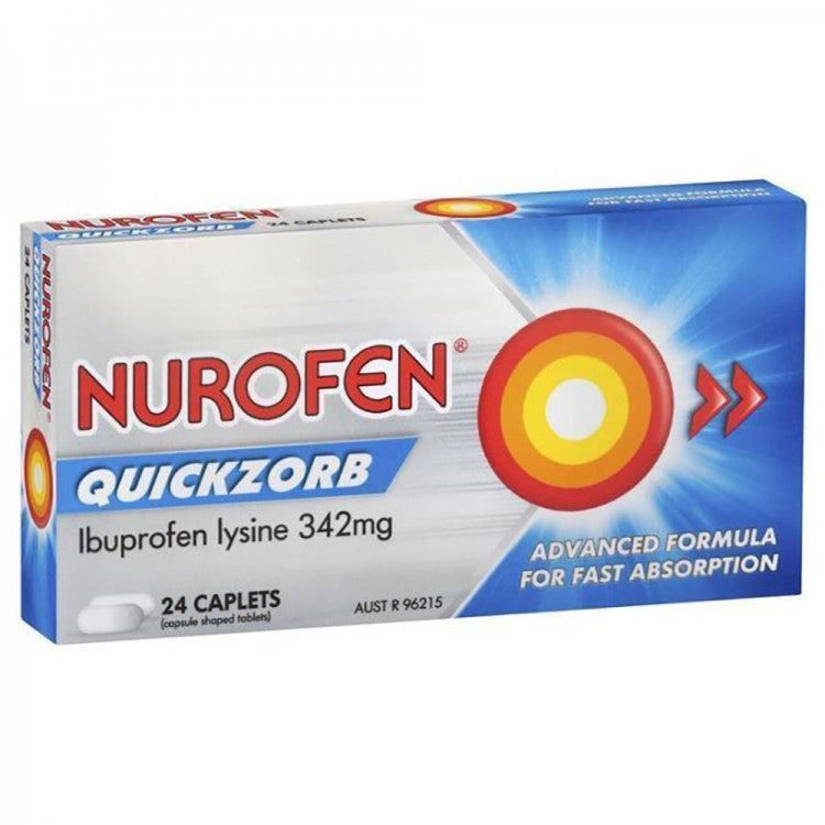 NUROFEN Quickzorb 24 Caplets - Best Buy Pharmacy