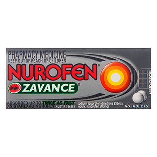 NUROFEN Zavance 48 Tablets - Best Buy Pharmacy