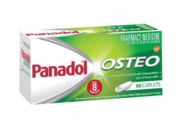 PANADOL Osteo 96 Caplets - Best Buy Pharmacy