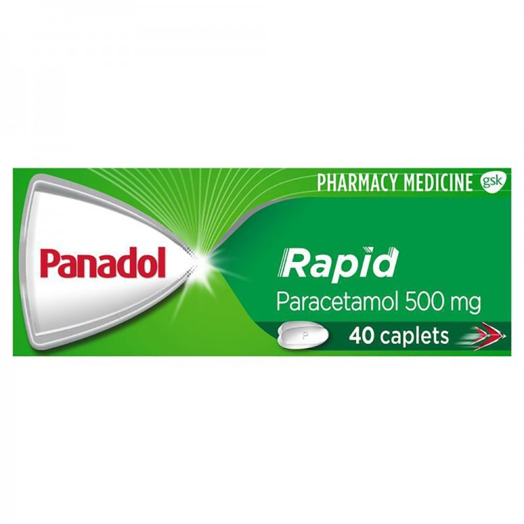 PANADOL Rapid 40 Caplets - Best Buy Pharmacy