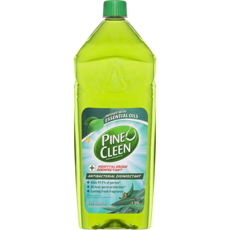 Pine O Cleen Antibacterial Disinfectant Eucalyptus 1.25L - Best Buy Pharmacy