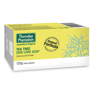 THURSDAY PLANTATION Tea Tree Skin Care Soap 125 g - Best Buy Pharmacy