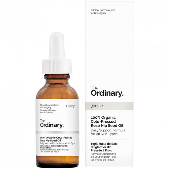 The Ordinary 100% Organic Cold-Pressed Rose Hip Seed Oil 30 mL - Best Buy Pharmacy