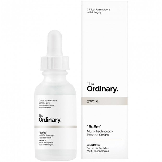 "The Ordinary ""Buffet"" Multi-Technology Peptide Serum 30 mL - Best Buy Pharmacy"