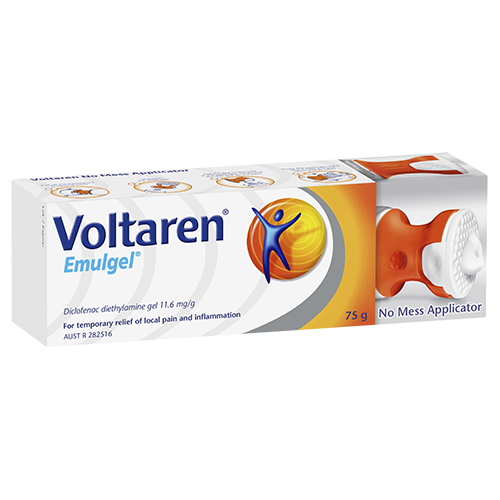 VOLTAREN Emulgel No Mess 1.16% 75g - Best Buy Pharmacy