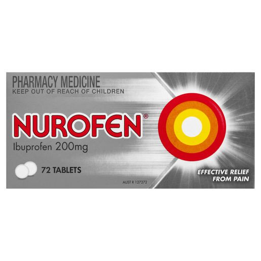 NUROFEN 72 Tablets