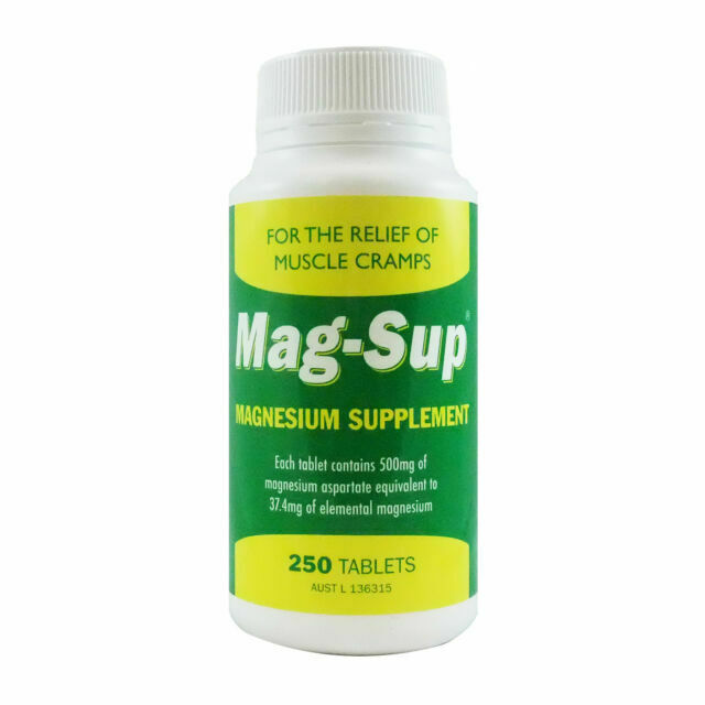 MAG-SUP Magnesium Supplement 500mg 250 Tablets