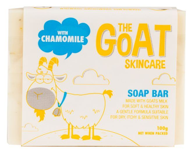 The Goat Skincare Soap Bar with Chamomile Extract 100g - Best Buy Pharmacy