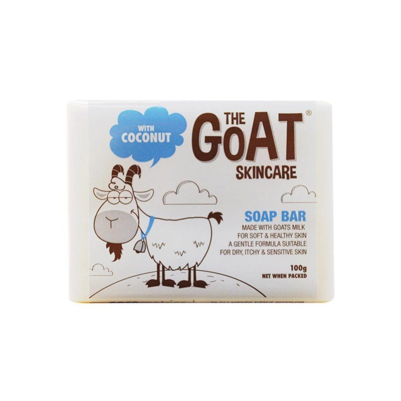 The Goat Skincare Soap Bar with Coconut 100g - Best Buy Pharmacy