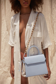 CARI SATCHEL BABY BLUE