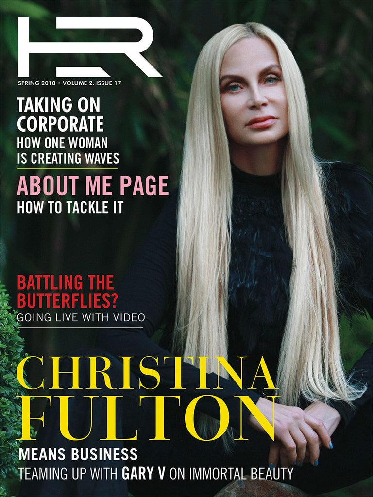 HER Magazine cover story article on Ms. Fulton