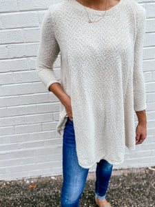 Miranda Tunic In Silver