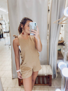 Button Down Romper