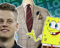 Joe Burrow Spongebob Sport Coat Fashion