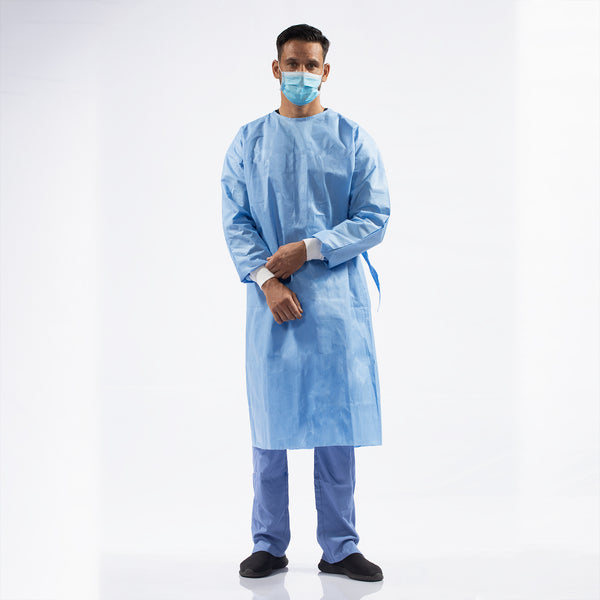 EN13795 STANDARD PERFORMANCE DISPOSABLE SURGICAL AND ISOLATION GOWNS