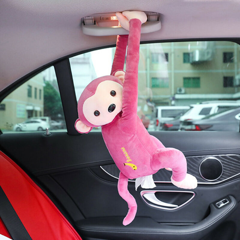 Home Office Car Hanging Paper Napkin Tissue Box Cover Holder