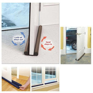 New Double Side 80 cm Door Window Twin Draft Guard Dust Resisted Sash Stopper Energy Saving
