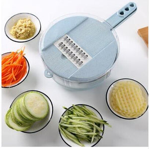 Multifunctional Round Veggie Fruit Chopper Cutter Shred Slicer Tool