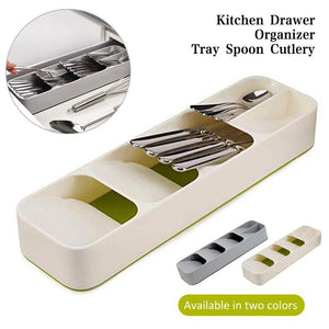 Multi-layer Kitchen Drawer Cutlery Organizer - Charlie Dreams