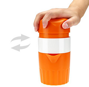 Portable Manual Lemon Juicer Mini Fruit Juicer Hand Lemon Orange Citrus Squeezer Big Capacity