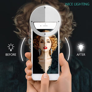 LED Portable Selfie Mini Ring Light - Charlie Dreams