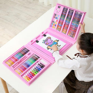 208-Piece Educational Children's Learning Painting Art Set