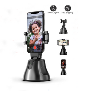 360 Rotation Auto Face Object Tracking Vlog Phone Holder