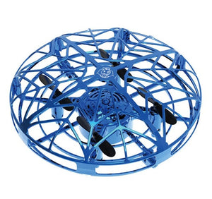 Anti-collision Hand UFO Ball Flying Aircraft RC Toys Gravity Defying Hand-Controlled Suspension drone UFO Helicopter Toy