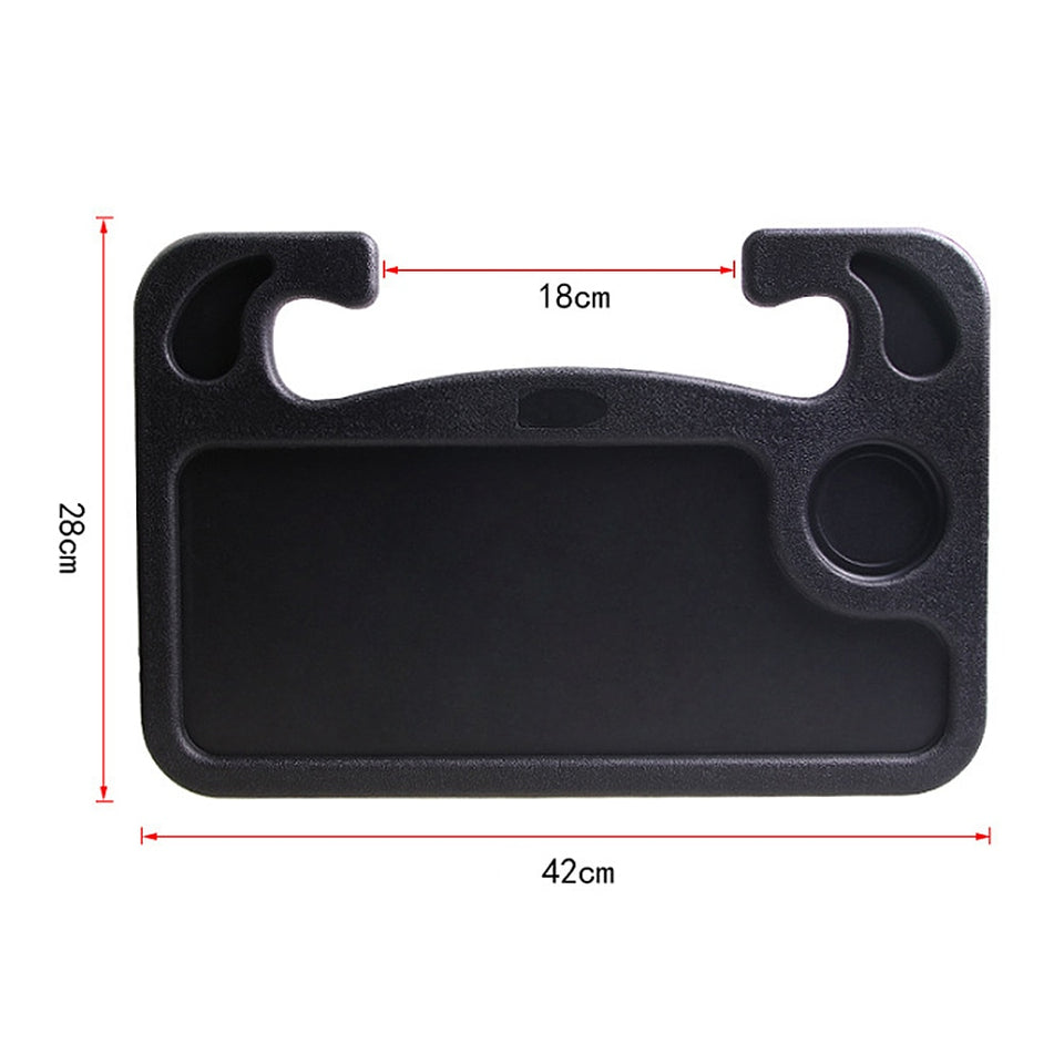 Multifunctional Car Laptop Stand Notebook Desk Steering Wheel Tray Table Food Drink Holder Car Card Table Computer