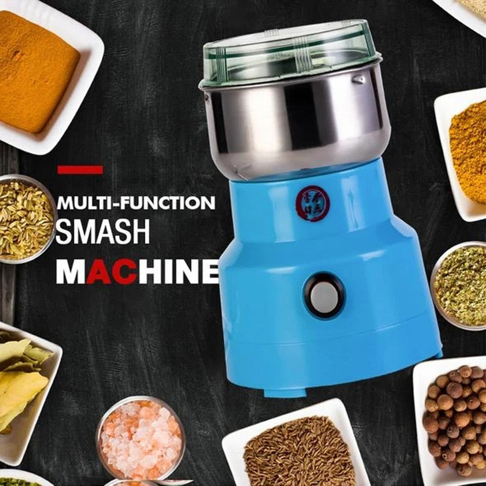 Multifunction Smash Machine Electric Coffee Bea n GrinderNut Spice Grinding Coffee Grinder